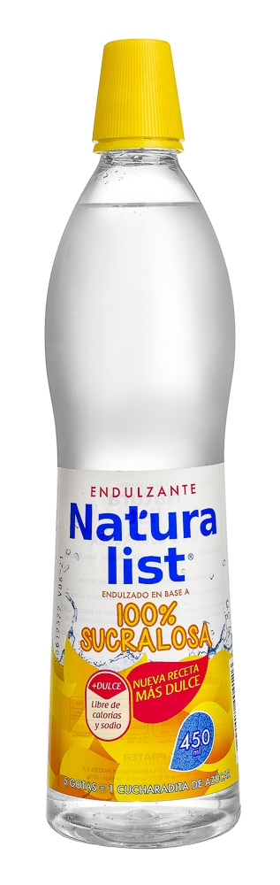 NATURALIST 100% SUCRALOSA 450 ML