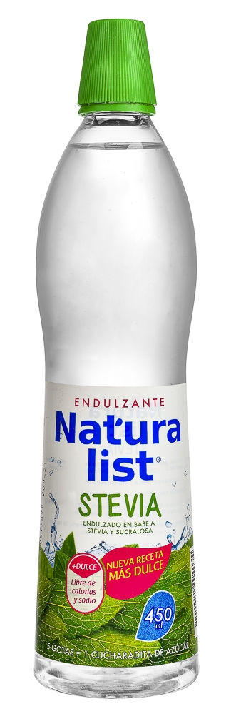 NATURALIST STEVIA 450 ML